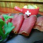 cecina de Suiza