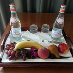 Fruit plate delivered because of my Select Guest returning status.