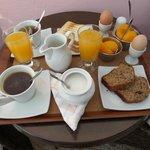 Breakfast day one