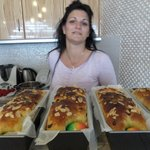 Katerina and Easter baking