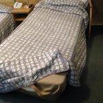Broken bed!