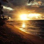 Nascer do sol na Costa do Sauípe!