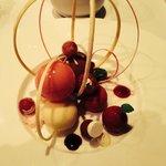 Celebration dessert. Erg lekker!