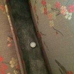 Corcholata vieja en el sillón
