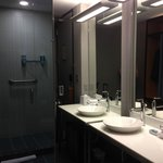 ALoft KIng bathroom with shower