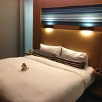 ALoft KIng bed