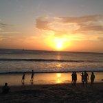 Playa extensa