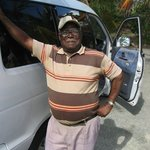 Our 80 year old cabbie!