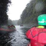 Between the rapids