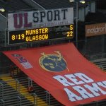 The Might Munster go down to Glasgow