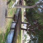 Balmorhea State Park. Grills outside. April 2014.