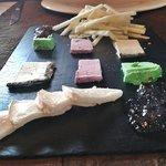 Seleccion de quesos de la zona de Radiquero