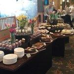 Easter brunch dessert buffet 2014