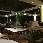 Luxurious entrance area