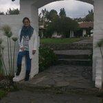 entrada a uno de los jardines