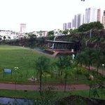 Vista panorâmica do parque.