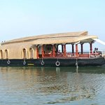 A laxuary Houseboat in the backwaters..