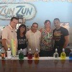 En el Zun Zun con nuestros amigos!!