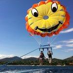 vol en double dans le golfe de Saint Tropez