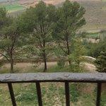 Paisaje desde los balcones de la Hospedería del Monasterio de Uclés