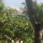 Blick vom Hotel zur Moschee
