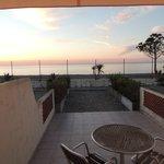 vue de la terrasse, vue sur mer