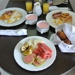 Room Service - Caribbean Breakfast
