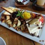 Bar - tábua de queijos