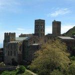 Vista del monestir