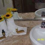 outra decoração do banheiro