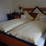 Double room- great beds!