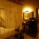 bedroom - mosquito net