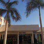 novotel cairo airport - edificio lobby e ristoranti
