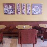 novotel cairo airport - angolo caffetteria