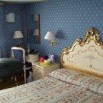 Decoração clássica em um quarto aconchegante