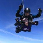 My sky dive