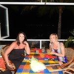 Sarah and Krista found Eva's on Trip Advisor