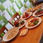 Opening Weekend Taster Menu Food