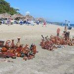 Beach sellers