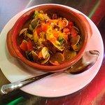 Saffron clams