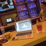 bar always with Nick or Tiffany