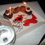 Celebration dessert