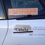 Taxis al Canela desde la manga club sólo 6€ . 968 98 14 14