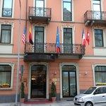 Domodossola - Hotel Corona - l'arrivo Via Guglielmo Marconi