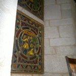 Les vitraux, intérieur (importés de Lausanne)