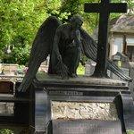 Tombstone at Bellu cemetery