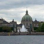 Marble Church and fountain
