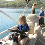 Rented a pontoon boat - so much fun!