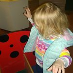 Ladybird in the old toy museum