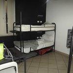 Beds dortoir mixte 4 persons